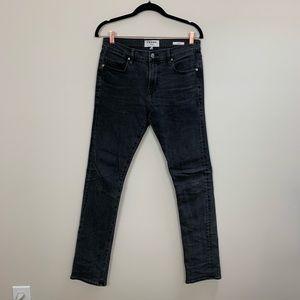 FRAME Inez Vinoodh Jeans Fade to Grey sz 31